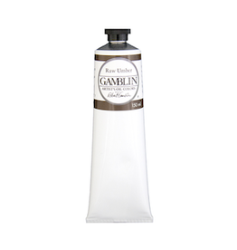 GAMBLIN GAMBLIN ARTIST'S OIL COLOR 150ml RAW UMBER