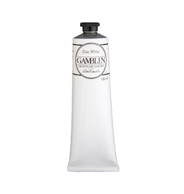 GAMBLIN GAMBLIN ARTIST'S OIL COLOR 150ml ZINC WHITE