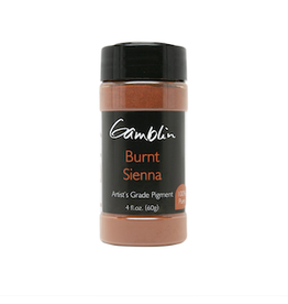 GAMBLIN GAMBLIN DRY PIGMENT 4oz BURNT SIENNA