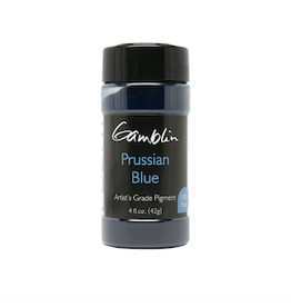 GAMBLIN GAMBLIN DRY PIGMENT 4oz PRUSSIAN BLUE