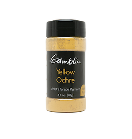 GAMBLIN GAMBLIN DRY PIGMENT 4oz YELLOW OCHRE