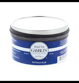 GAMBLIN GAMBLIN RELIEF INK 175ml PHTHALO BLUE