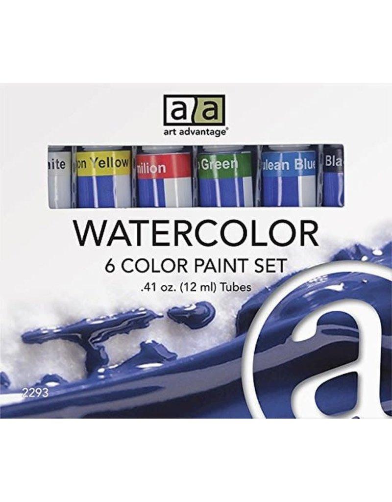 AA WATERCOLOR SET 6X12ml