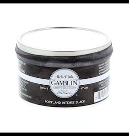 GAMBLIN GAMBLIN RELIEF INK 175ml PORTLAND INTENSE BLACK