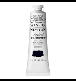 WINSOR & NEWTON ARTISTS' OIL COLOR 37ml TUBE BLUE BLACK