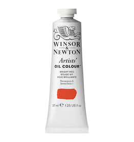 WINSOR & NEWTON ARTISTS' OIL COLOR 37ml TUBE BRIGHT RED