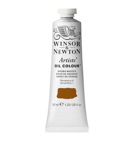 WINSOR & NEWTON ARTISTS' OIL COLOR 37ml TUBE BROWN MADDER