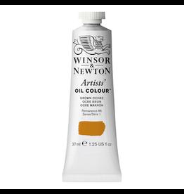 WINSOR & NEWTON ARTISTS' OIL COLOR 37ml TUBE BROWN OCHRE