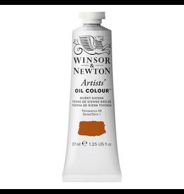 WINSOR & NEWTON ARTISTS' OIL COLOR 37ml TUBE BURNT SIENNA