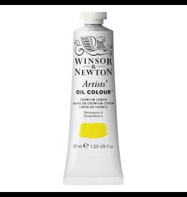 WINSOR & NEWTON ARTISTS' OIL COLOR 37ml TUBE CADMIUM LEMON