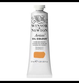 WINSOR & NEWTON ARTISTS' OIL COLOR 37ml TUBE CADMIUM ORANGE