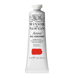 WINSOR & NEWTON ARTISTS' OIL COLOR 37ml TUBE CADMIUM RED