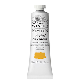 WINSOR & NEWTON ARTISTS' OIL COLOR 37ml TUBE CADMIUM YELLOW DEEP