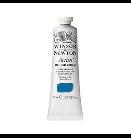 WINSOR & NEWTON ARTISTS' OIL COLOR 37ml TUBE CERULEAN BLUE