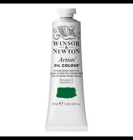 WINSOR & NEWTON ARTISTS' OIL COLOR 37ml TUBE CHROME GREEN DEEP HUE