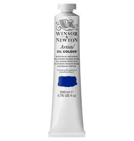 WINSOR & NEWTON ARTISTS' OIL COLOR 200ml TUBE WINSOR BLUE RED SHADE