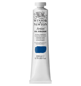 WINSOR & NEWTON ARTISTS' OIL COLOR 200ml TUBE PHTHALO TURQUOISE