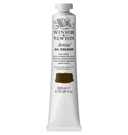 WINSOR & NEWTON ARTISTS' OIL COLOR 200ml TUBE RAW UMBER