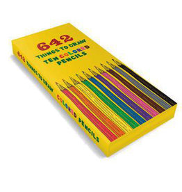 642 THINGS TO DRAW - COLORED PENCIL PACK