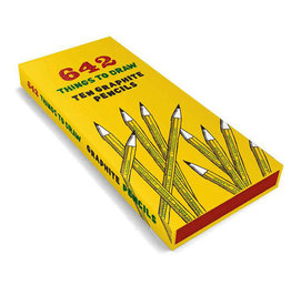 642 THINGS TO DRAW - GRAPHITE PENCIL PACK