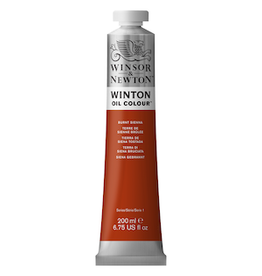 WINSOR & NEWTON WINTON OIL COLOR 200ml TUBE BURNT SIENNA