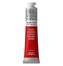 WINSOR & NEWTON WINTON OIL COLOR 200ml TUBE CADMIUM RED DEEP HUE
