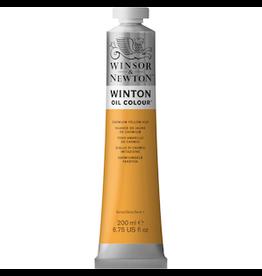 WINSOR & NEWTON WINTON OIL COLOR 200ml TUBE CADMIUM YELLOW HUE