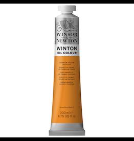 WINSOR & NEWTON WINTON OIL COLOR 200ml TUBE CADMIUM YELLOW DEEP HUE