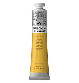 WINSOR & NEWTON WINTON OIL COLOR 200ml TUBE CADMIUM YELLOW MEDIUM