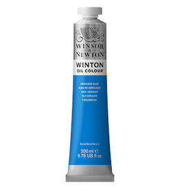 WINSOR & NEWTON WINTON OIL COLOR 200ml TUBE CERULEAN BLUE