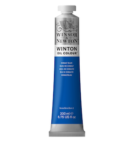 WINSOR & NEWTON WINTON OIL COLOR 200ml TUBE COBALT BLUE