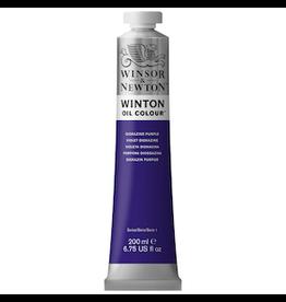 WINSOR & NEWTON WINTON OIL COLOR 200ml TUBE DIOXAZINE PURPLE