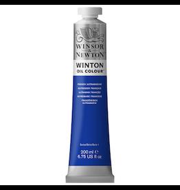 WINSOR & NEWTON WINTON OIL COLOR 200ml TUBE FRENCH ULTRAMINE