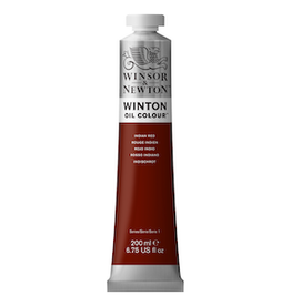 WINSOR & NEWTON WINTON OIL COLOR 200ml TUBE INDIAN RED