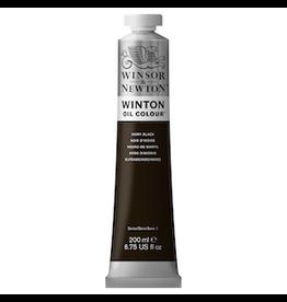 WINSOR & NEWTON WINTON OIL COLOR 200ml TUBE IVORY BLACK