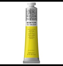 WINSOR & NEWTON WINTON OIL COLOR 200ml TUBE LEMON YELLOW HUE