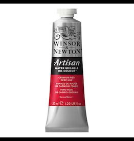 WINSOR & NEWTON ARTISAN 37ml TUBE CADMIUM RED DEEP HUE