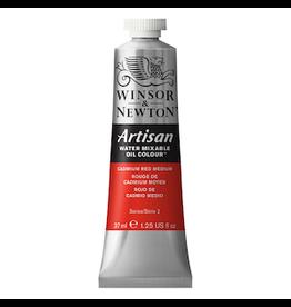 WINSOR & NEWTON ARTISAN 37ml TUBE CADMIUM RED MEDIUM