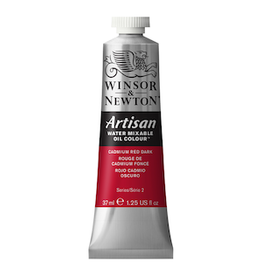 WINSOR & NEWTON ARTISAN 37ml TUBE CADMIUM RED DARK