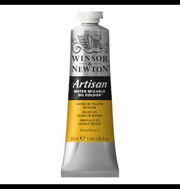 WINSOR & NEWTON ARTISAN 37ml TUBE CADMIUM YELLOW MEDIUM