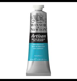 WINSOR & NEWTON ARTISAN 37ml TUBE CERULEAN BLUE