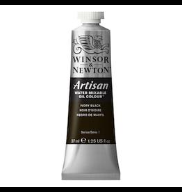 WINSOR & NEWTON ARTISAN 37ml TUBE IVORY BLACK