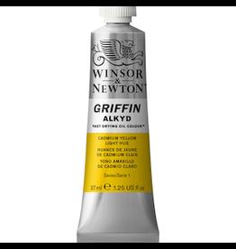 WINSOR & NEWTON GRIFFIN 37ml TUBE CADMIUM YELLOW LIGHT HUE