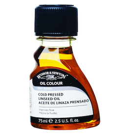 WINSOR & NEWTON COLD PRESSED LINSEED 75ml