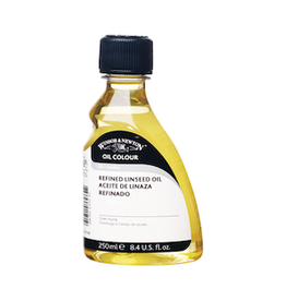 WINSOR & NEWTON REFINED LINSEED OIL 250ml
