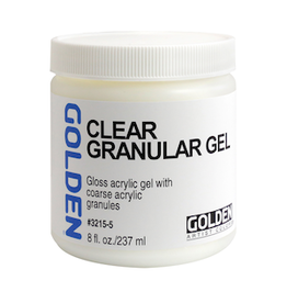 GOLDEN ACRYLICS CLEAR GRANULAR GEL 8OZ