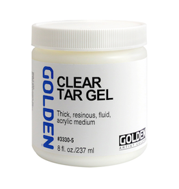 GOLDEN ACRYLICS CLEAR TAR GEL 8OZ