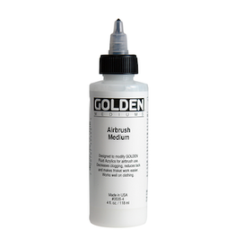 GOLDEN ACRYLICS AIRBRUSH MEDIUM 4OZ