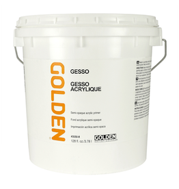 GOLDEN ACRYLICS GOLDEN GESSO GALLON