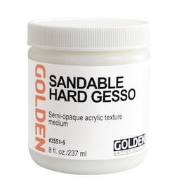 GOLDEN ACRYLICS SANDABLE HARD GESSO 8oz